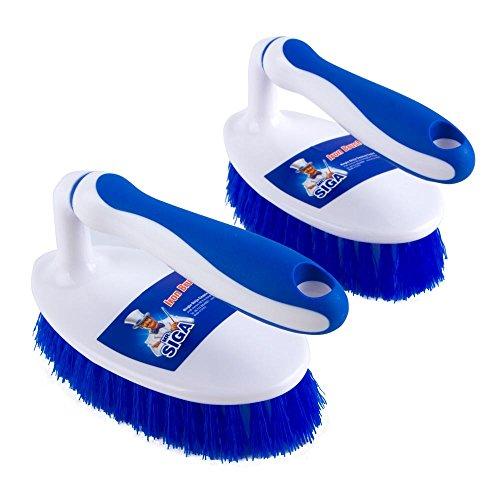 Mr Siga Multi Purpose Heavy Duty Scrub Brush Pack Of 2