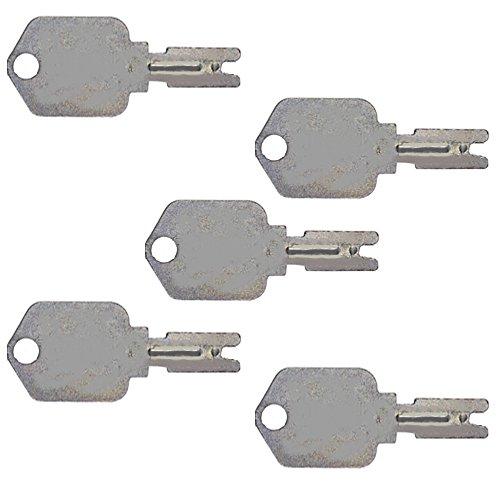1 pair 2 Keyman Toyota Forklift Keys-New Style