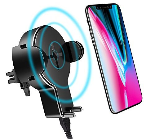 iphone car charger wireless car charger iphone x rock iphone car holder w2 1912